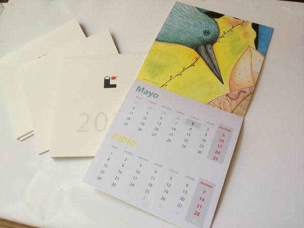 Ilustración adaptada a calendario