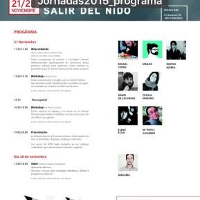 Diseño de cartel para Jornadas de APIM