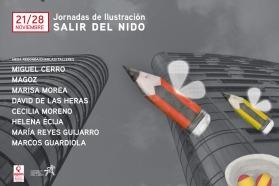 Diseño e ilustración cartel para las jornadas de APIM