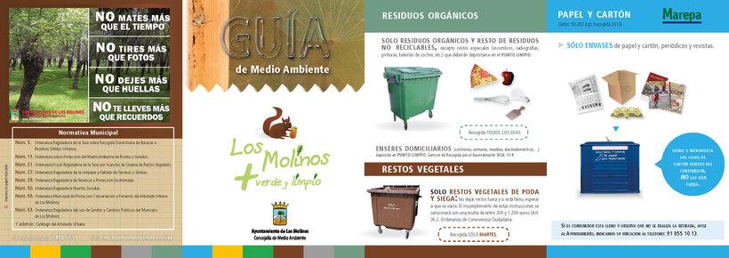 Diseño y maquetación folleto para Ayuntamiento