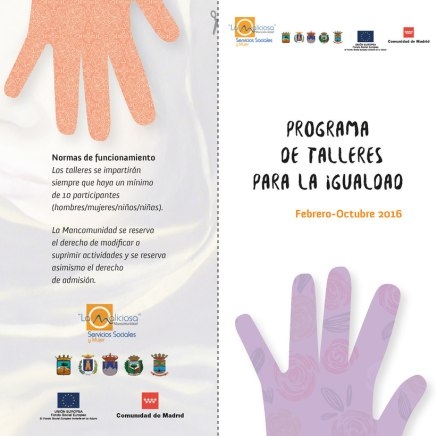 Diseño y maquetación de folleto para Ayuntamientos