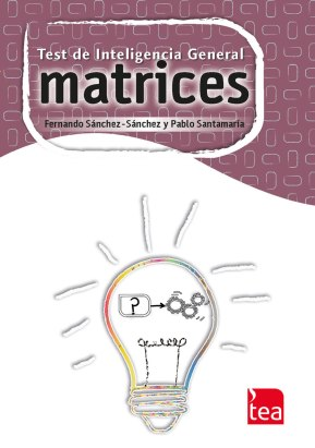 Diseño de imagen general para el TEST Matrices (TEA Ediciones)