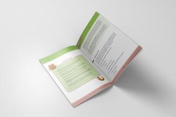 Diseño y maquetación del Manual A5 CMYK