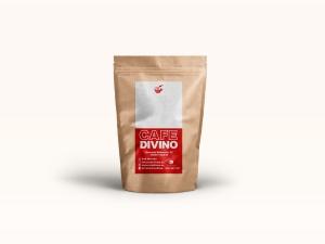 Etiqueta para bolsas de café